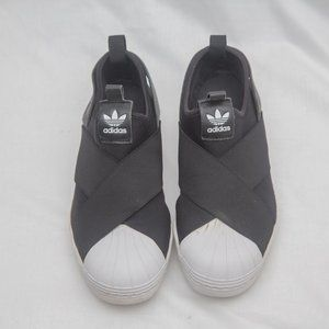 Adidas Original Superstar Slip On Sneakers 6.5